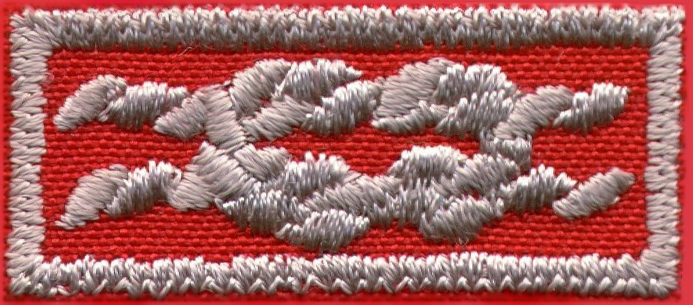Adult square knots bsa
